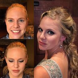 #makeupbyaleah #weddingmakeup #glambridesmaids #repeatclientsarethebest #allthewayfromaustralia #bef