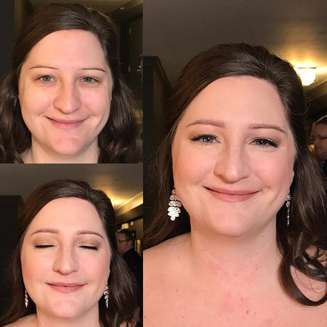 Last Saturday's bride  #naturalmakeup #makeupbyaleah #weddingmakeup #bridalmakeup #minneapolismakeup