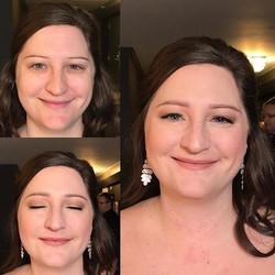 Last Saturday's bride  #naturalmakeup #makeupbyaleah #weddingmakeup #bridalmakeup #minneapolismakeup