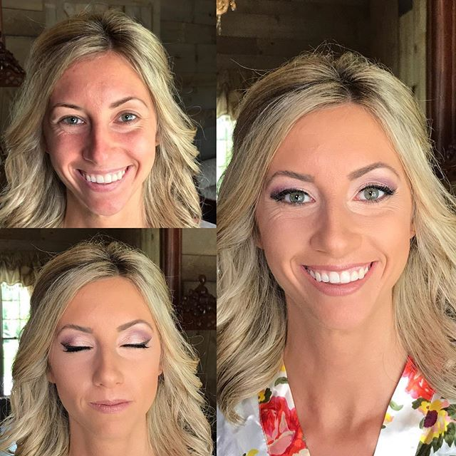Another beautiful bride today!  #makeupbyaleah #weddingmakeup #bridalmakeup #airbrushmakeup #minneap