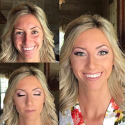 Another beautiful bride today!  #makeupbyaleah #weddingmakeup #bridalmakeup #airbrushmakeup #minneap