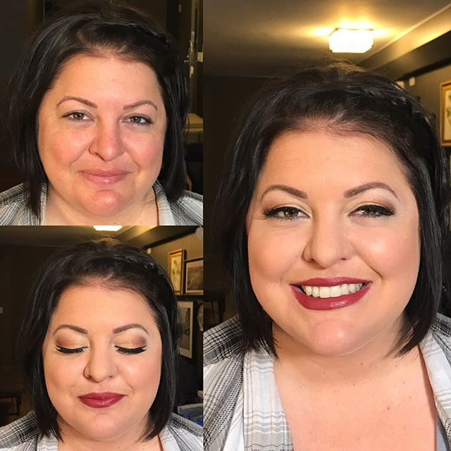One of my favorites from yesterday's wedding #bridesmaidmakeup #makeupbyaleah #minneapolismakeuparti