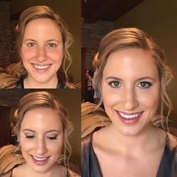 #makeupbyaleah #weddingmakeup #bridalmakeup #airbrushmakeup #naturalmakeup #beforeandafter