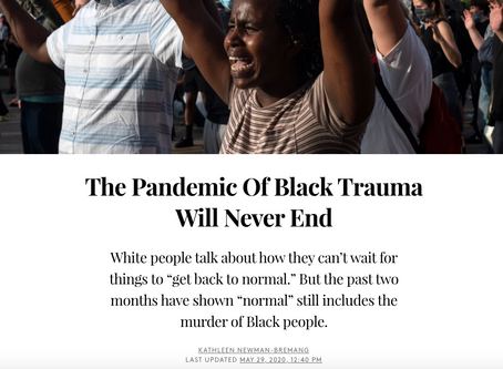 BPS for BLM: Racial Injustice During a Pandemic