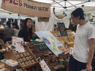 青山ファーマーズマーケットに出店開始