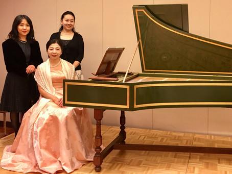 天野乃里子さんのチェンバロ演奏会にて