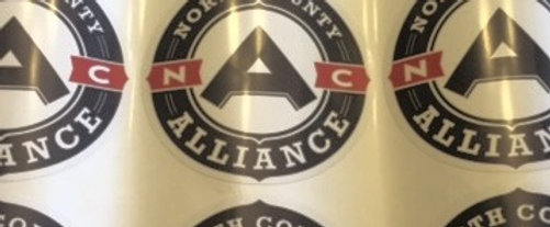 NC Alliance Decal