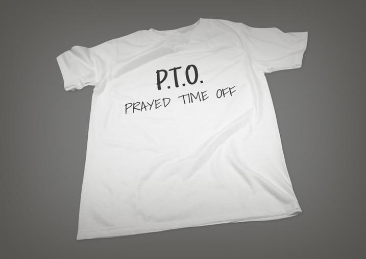 PTO - T - WHITE