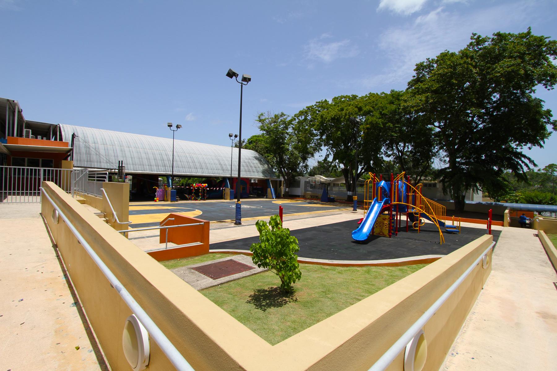 School Backyard