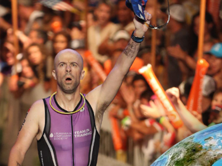This Transplant Recipient Survived Cancer and Heart Failure to Compete in Ironman Triathlons