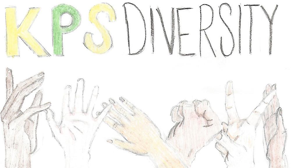 KPS DIVERSITY - art by Kelsey Burrows '20