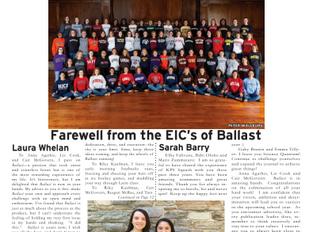 Ballast: Graduation 2016 Issue