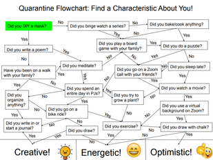 Quarantine Flowchart: Can I Guess a Characteristic About You?