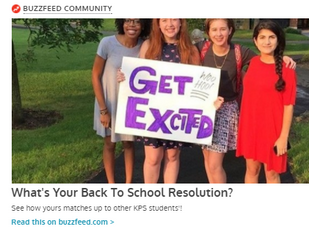 What's your back to school resolution?