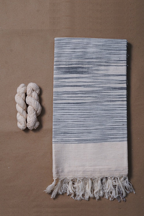 Hand woven cotton throws
