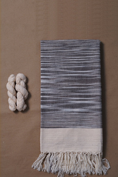 Hand woven cotton throws