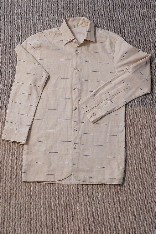 Hand Woven Cotton Shirt/Jacket