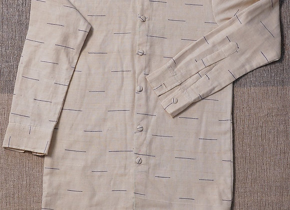 Hand Woven Cotton Shirt/Jacket