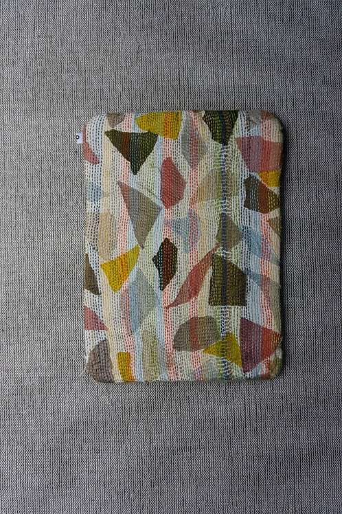 Hand woven cotton  Sujani Laptop sleeve