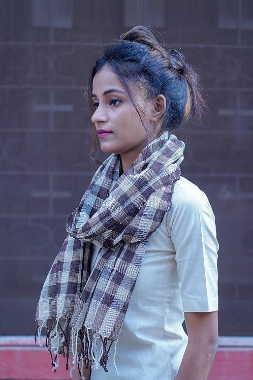 Katia silk Fishnet scarf
