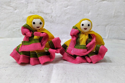 Sujani handmade doll