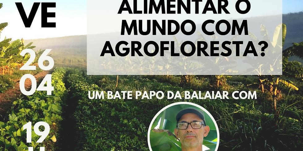 Como alimentar o mundo com comida de agrofloresta? - com Fernando Rebelo