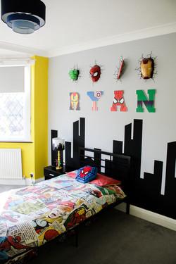 Marvel Super Hero Bedroom