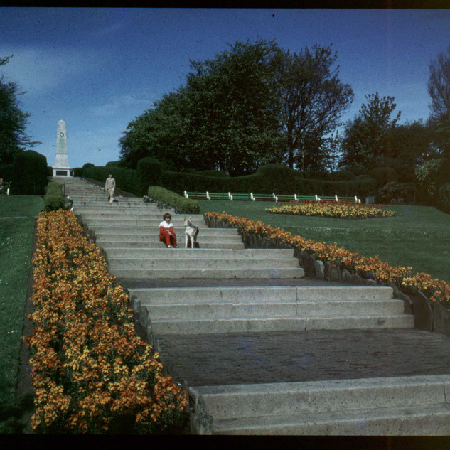 Towards the Memorial in the 60's, from David Bury
