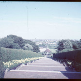The old Bandstand in the 60's, from David Bury