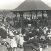 BANDSTAND IN ITS EARLY DAYS FROM BILL MYERS