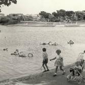 Barrow Park Lake 1960's. from Heather Ho