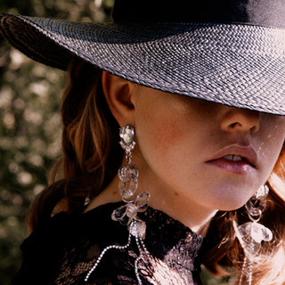 Panama Straw royal style hat. Made in Italy.