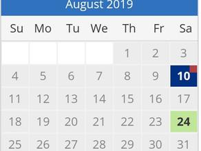 מועדי TOEFL בישראל 2019