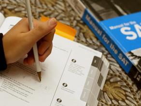 מבחן SAT: עבר, הווה ועתיד