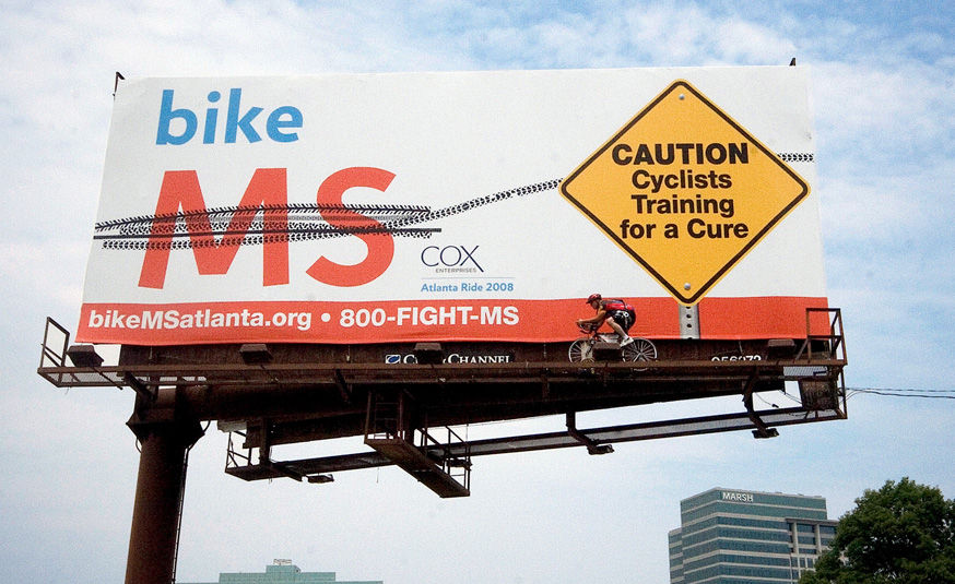 Multiple Sclerosis Billboard Advertising