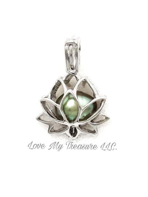 Lotus Flower Cage Pendant Sp