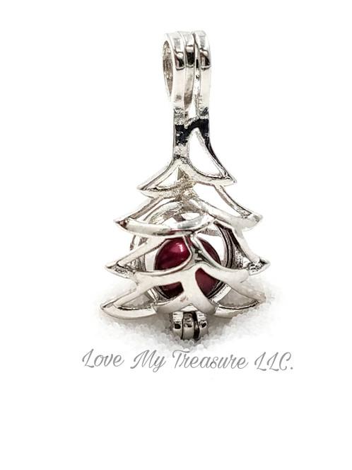 Christmas tree cage pendant sp lovemytreasure aloadofball Images