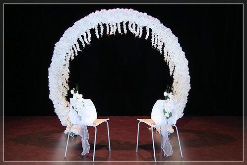 Arche fleurie ∅2,50m