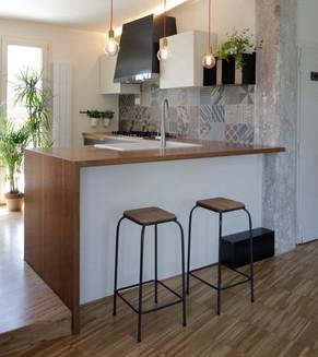 Cucina per abitazione privata