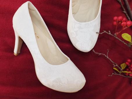 How to เลือกรองเท้าเจ้าสาวอย่างไร ให้เหมาะสมกับรูปร่าง