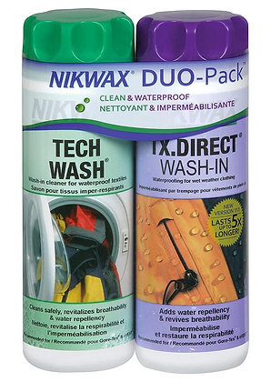 Nikwax Hardshell Duo Pack 300ml