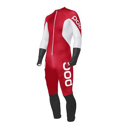 Poc Skin Suit JR Bohrium Rouge/Hydrogen Blanc