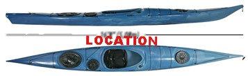Location - Kayak de mer solo