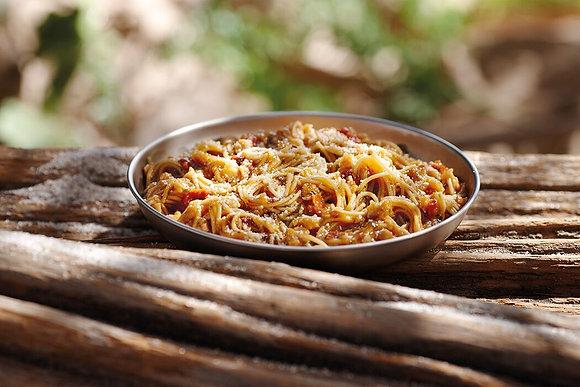 Happy Yak -Spaghetti à la sauce Napolitaine et tomates sêchées