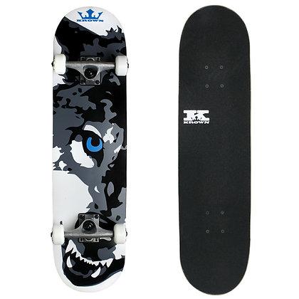 Krown Complete Rookie Wolf Skateboard Complete