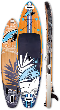 F2  Swell 11.5 PaddleBoard Gonflable Planche à Pagaie