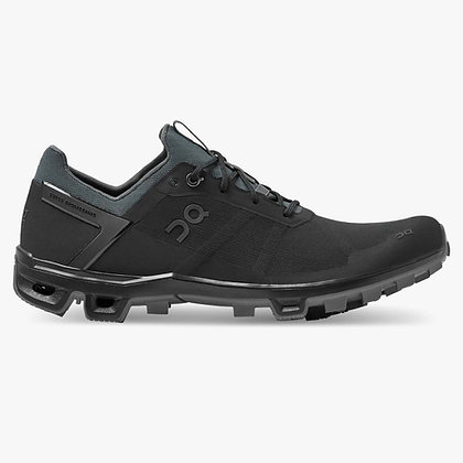ON CloudVenture Peak femme Black/Rock