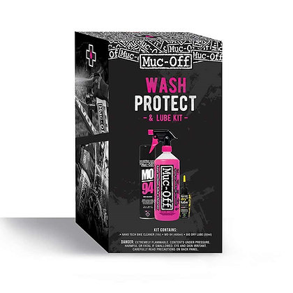 Muc-Off WASH-PROTECT-LUBE Trousse d`entretien