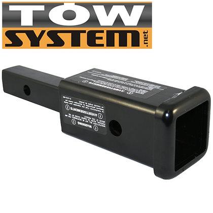 Tow Adapteur 1 1/4 à 2 pouces pour Support d`Attelage à Vélos
