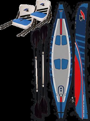 F2 Kayak Double de 13 pieds Gonflable